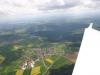 Auf dem Heimflug in Richtung Wächtersberg