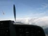 Jetzt steht der Propeller gerade