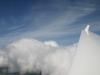 Jetzt sind wir über den Wolken