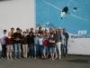 Gruppenfoto der Fluglager-Teilnehmer