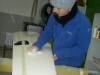 Letzter Arbeitsgang: polieren