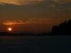 Solche schönen Sonnenuntergänge erlebt man nicht so oft. Heute ist unser Glückstag