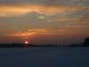 Auch die Sonne verabschiedet sich langsam für heute