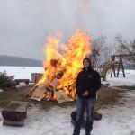 Wächtersberger lieben es Feuer zu machen