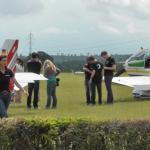 Flugvorbereitungen