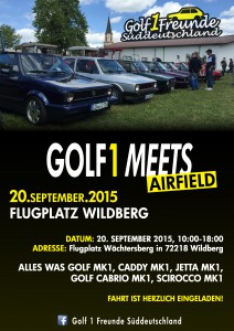 Golf 1 meets Airfield