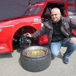 Egidio Pisano und die 10-Kolben-Bremsanlage mit 350er Scheiben