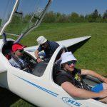 Fluglehrer erläutert Instrumentierung