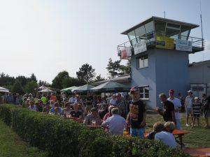 Totengedenken 2017, am Fliegerdenkmal