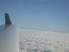 Nebel bis zu den Alpen