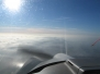 Herbstflug über Nebel, 31.10.2011