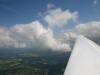 Rapsfelder Sicht aus ca. 2700 m Höhe