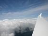 Blick auf die Wolkenwalze